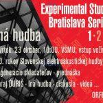 Experimental Studio Series 1-2-3